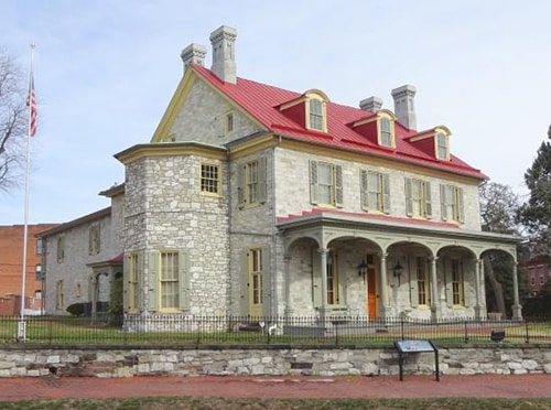John Harris & Simon Cameron Mansion