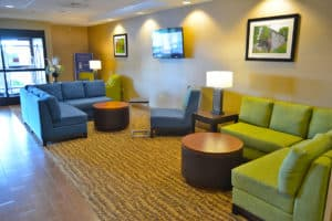 Comfort Suites Amish Country Lobby