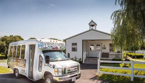 amish farm house school