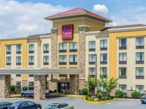 comfort suites hummelstown hershey pa exterior