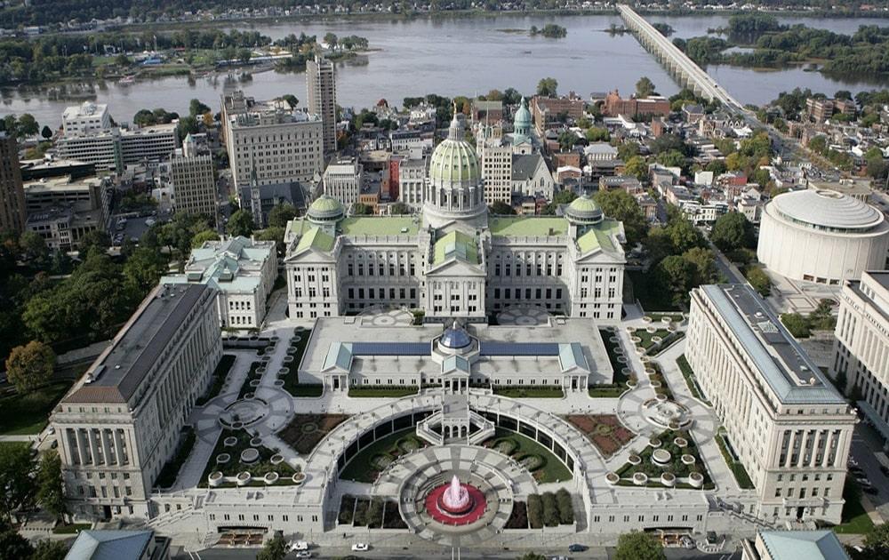 Harrisburg PA Capitol