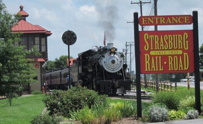 strasburg railroad station